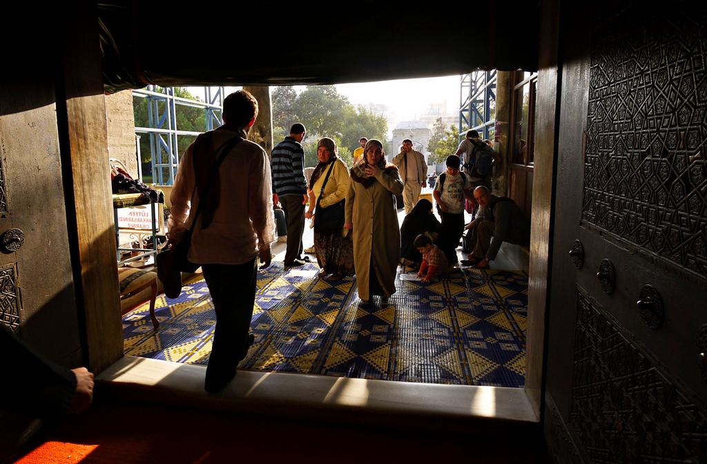 Entrance, Suleymaniye Mosque