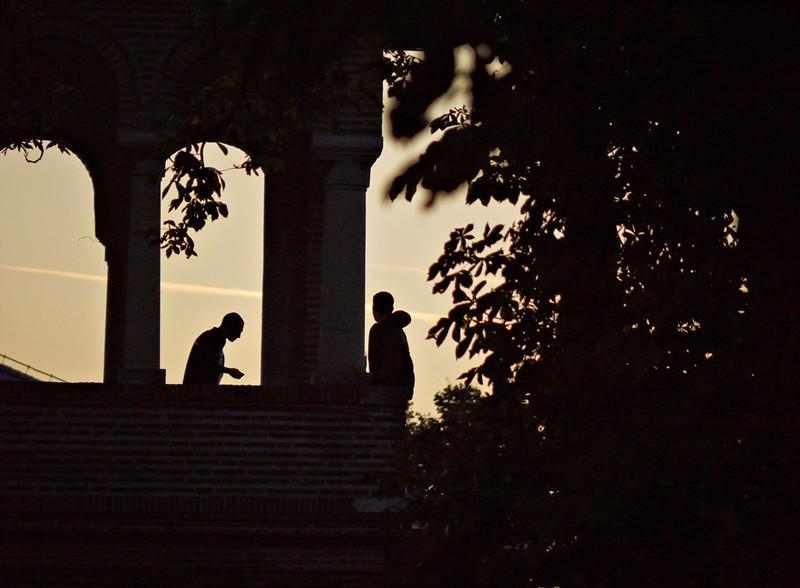 Evening, Mogosoaia Palace, outside Bucharest
