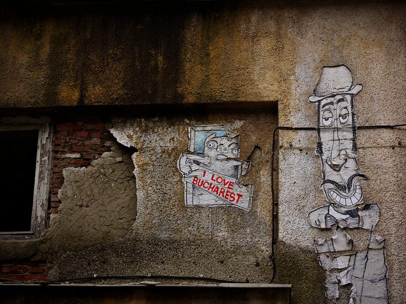 Graffiti, Bucharest