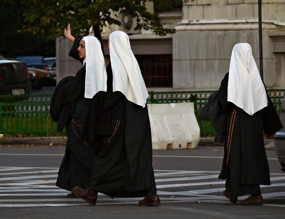Nuns, Bucharest