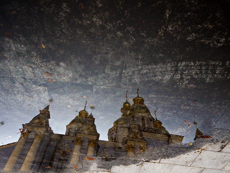 Reflection, St  Michael's Monastery, Kiev