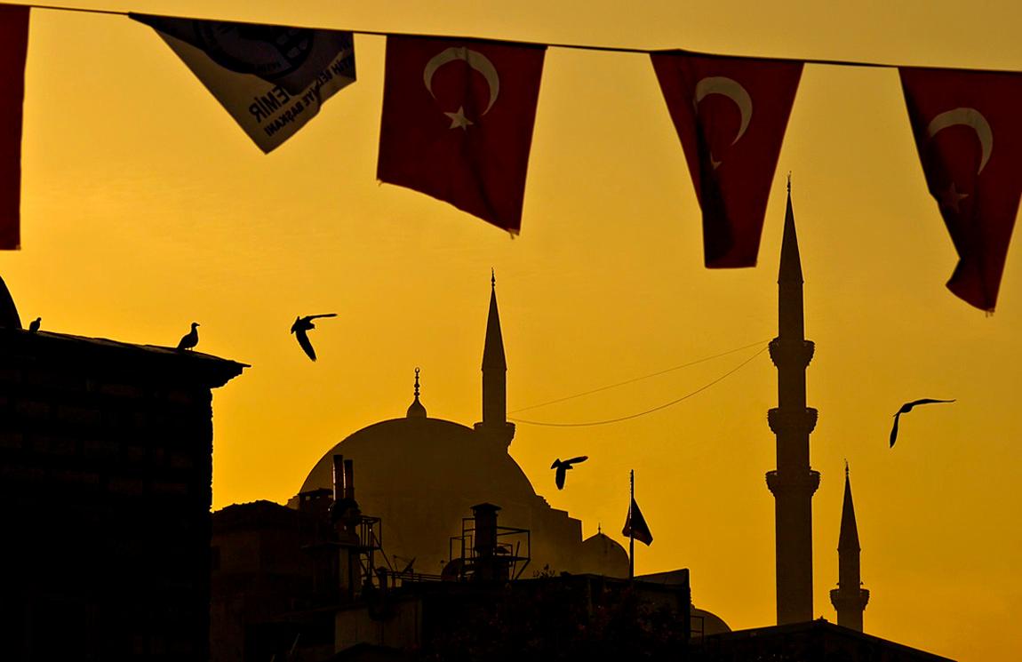 Evening, Istanbul