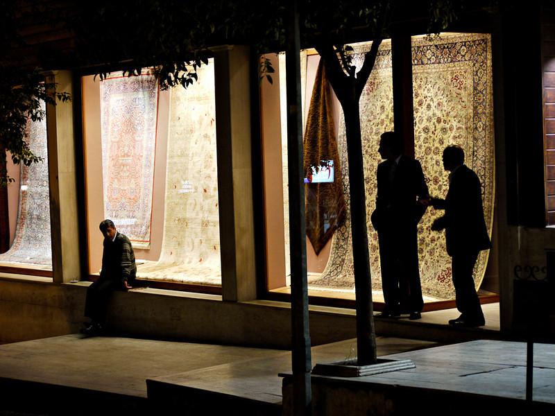 Rug salesmen, Istanbul
