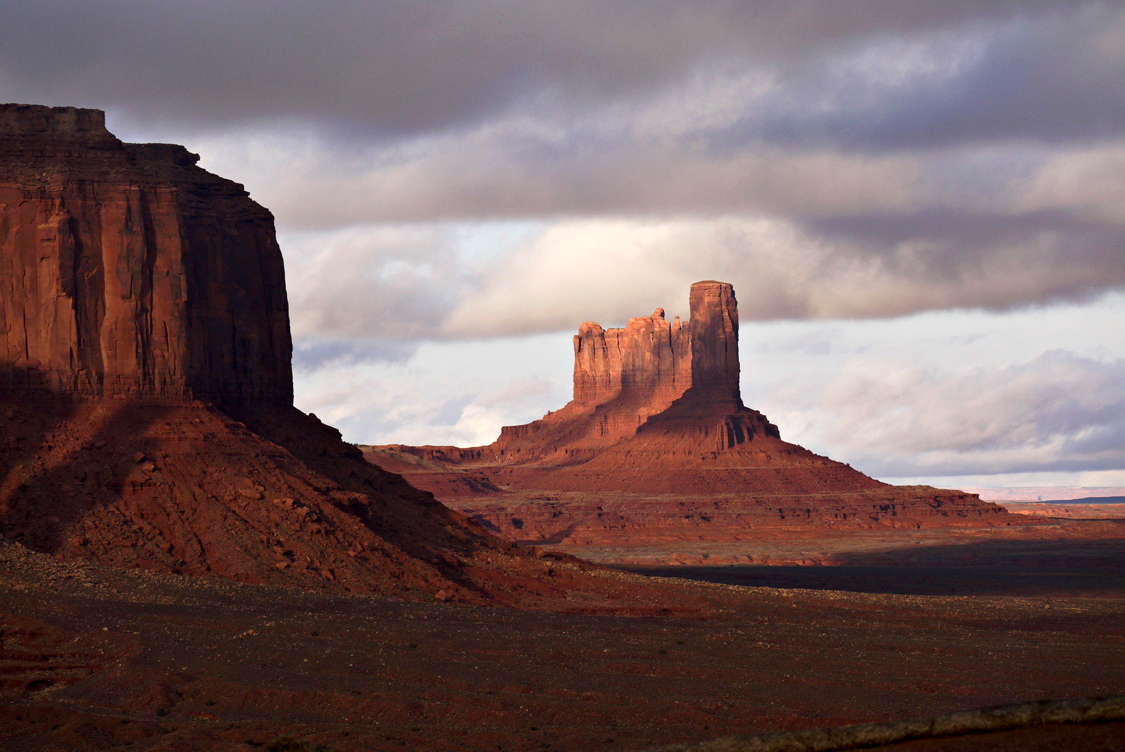 Day's end, Monument Valley