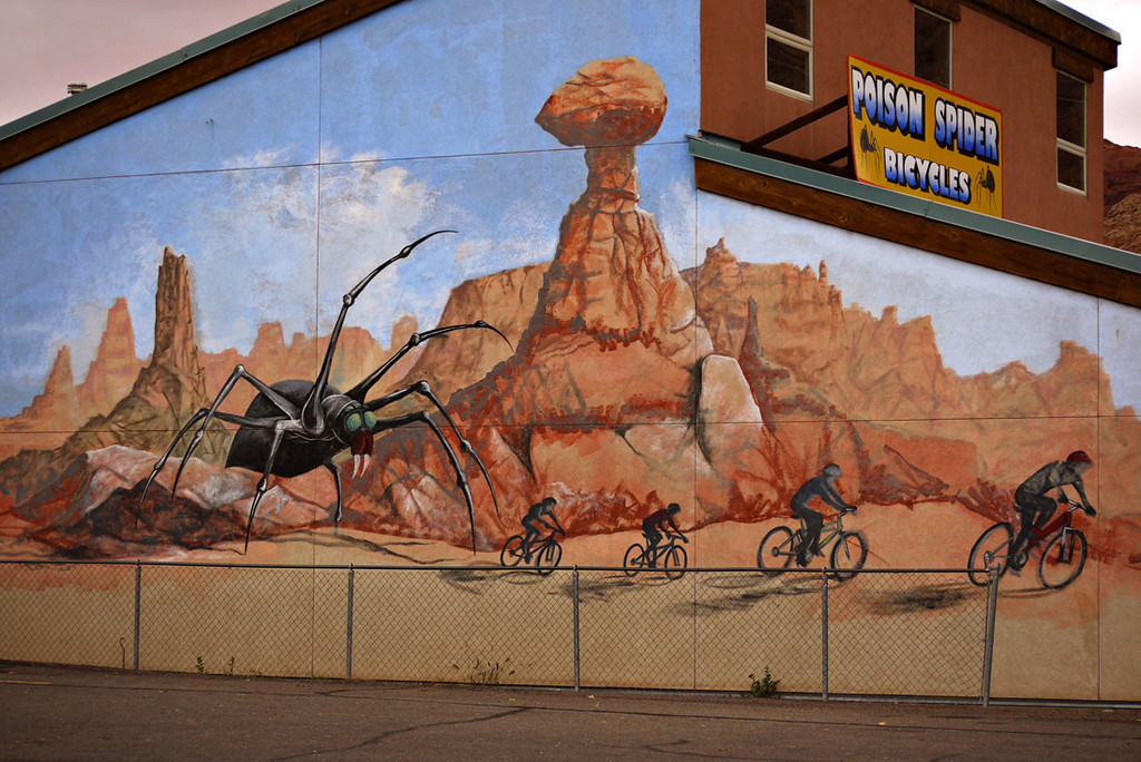 Bike shop, Moab, Utah
