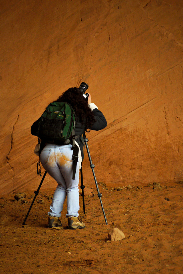 Photographer, Monument Valley