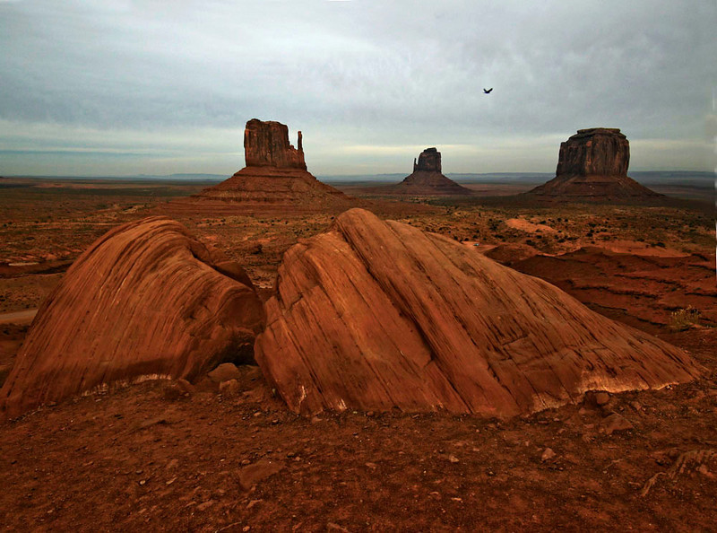 Dusk, Monument Valley