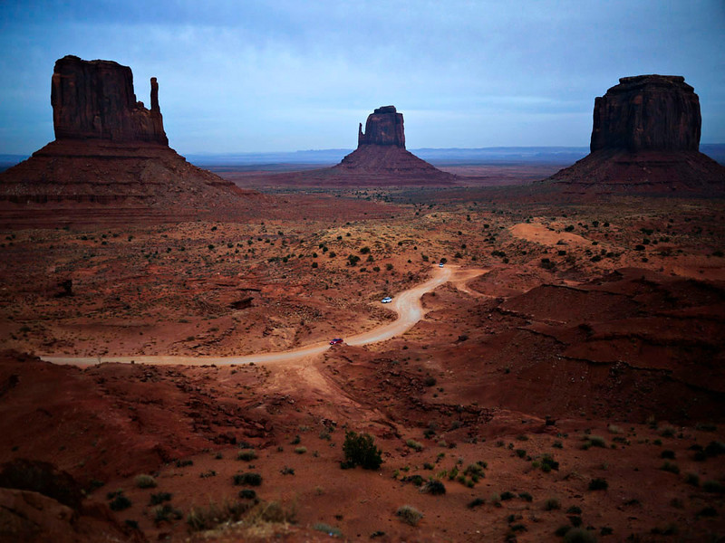 Tribal road,Monument Valley