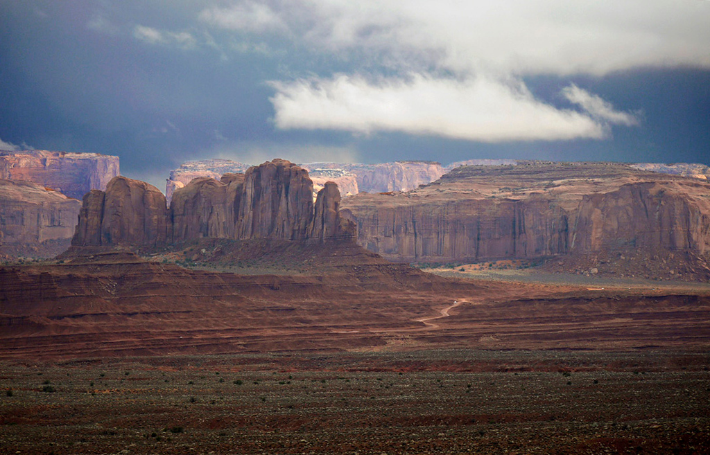 Buttes, Monument Valley
