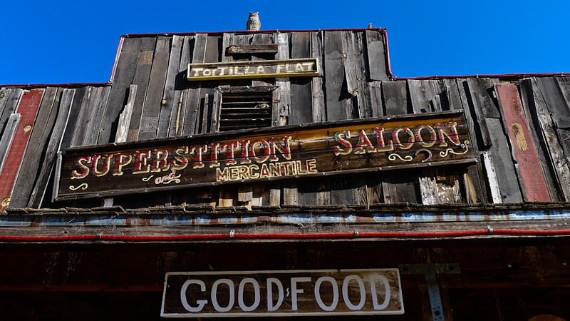 Saloon, Tortilla Flat, Arizona