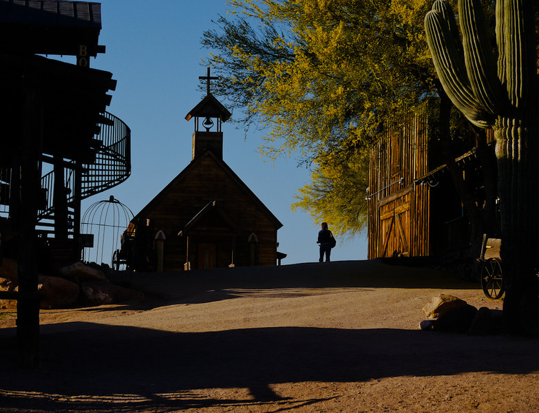 Ghost town, Goldfield, Arizona