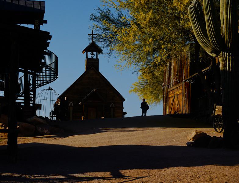 Ghost town, Goldfield, Arizona