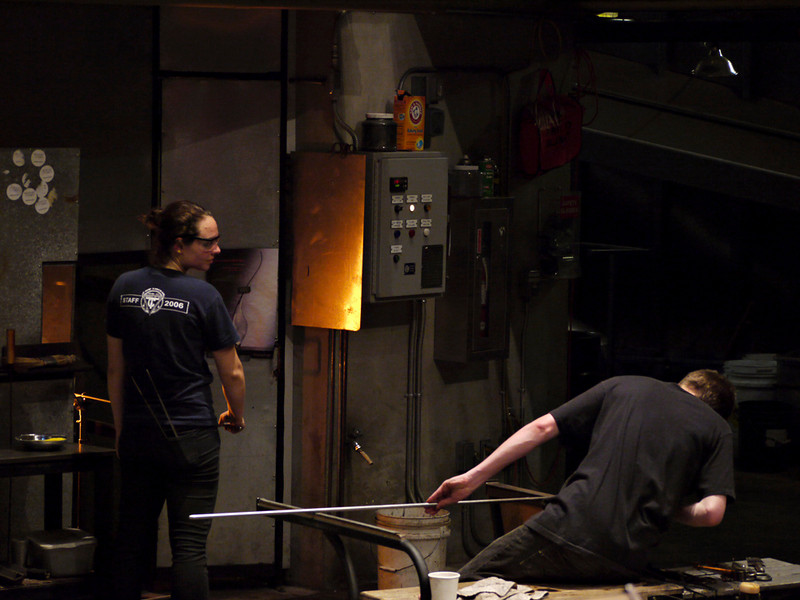 Hot Shop, Museum of Glass, Tacoma, Washington
