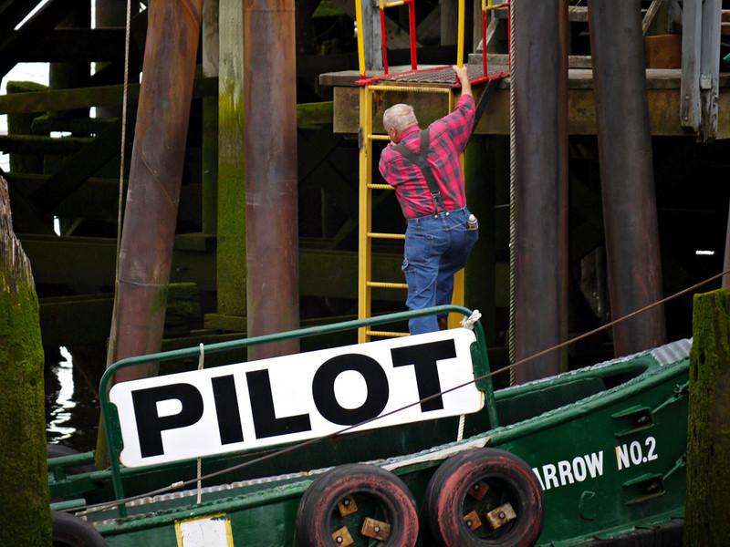 Pilot boat, Astoria, Oregon