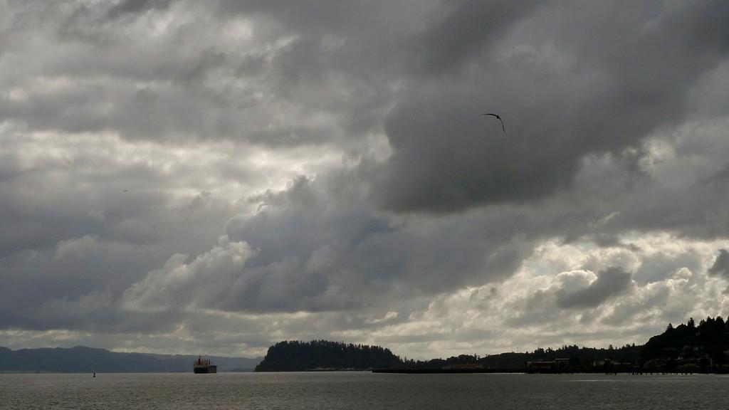 Storm over Astoria, Oregon