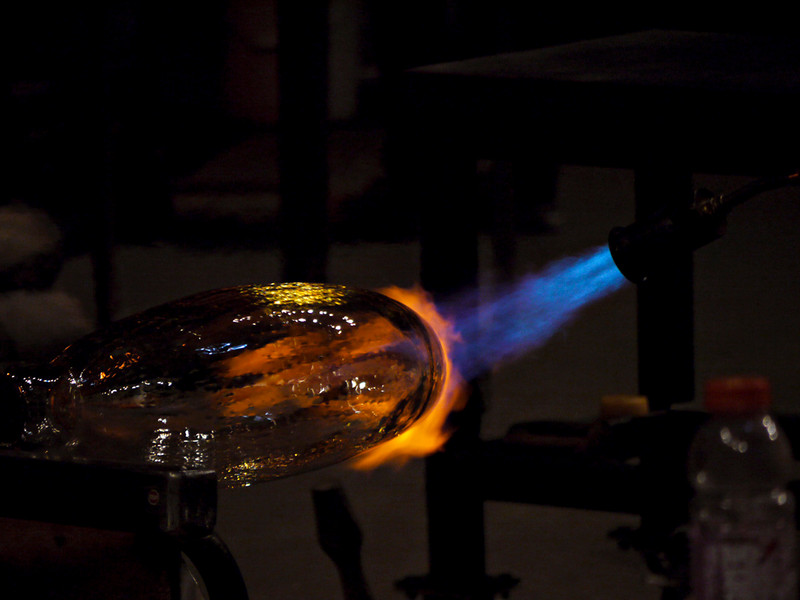 Making art, Museum of Glass, Tacoma, Washington