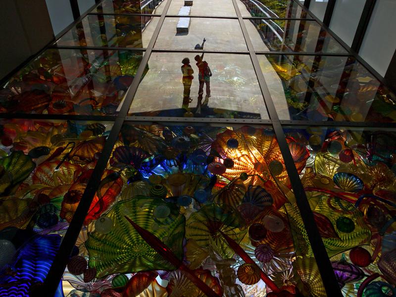 Seaform Pavilion, Chihuly Bridge of Glass, Tacoma, Washington