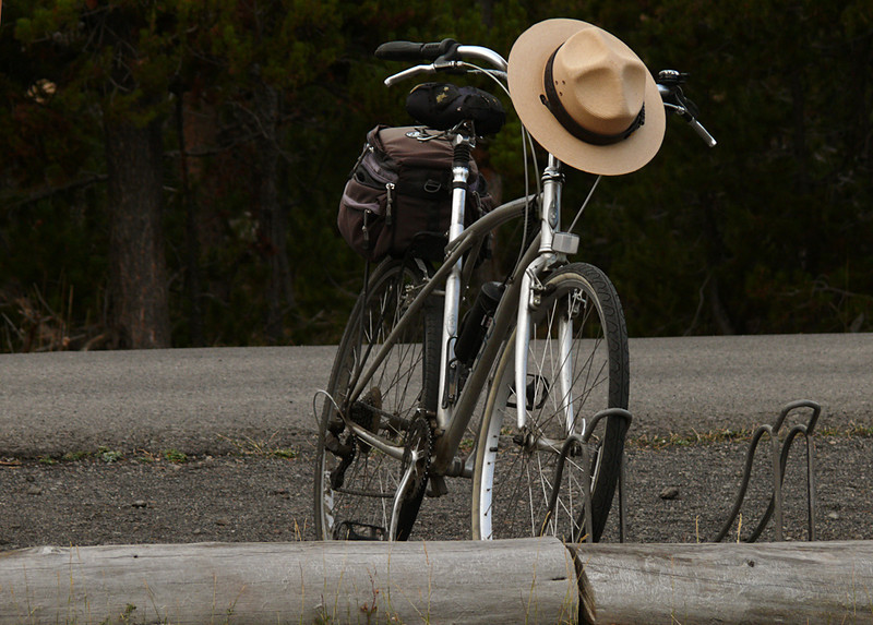 Ranger bike, Yellowstone, WY