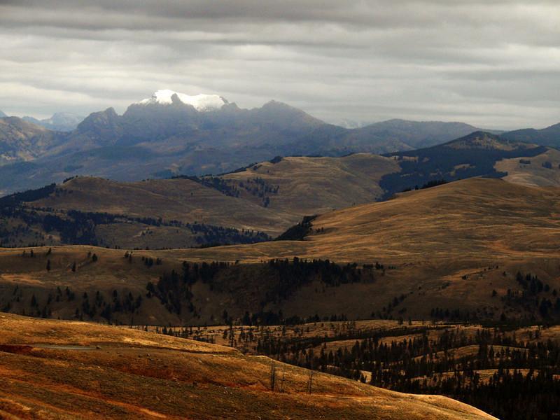 Absaroka Range from Yellowstone, WY