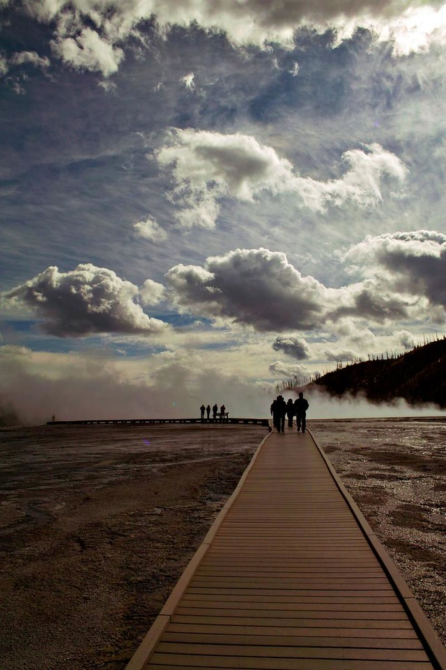 Grand Prismatic Spring, Yellowstone, WY