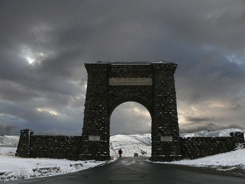 North Gate, Yellowstone National Park, MT