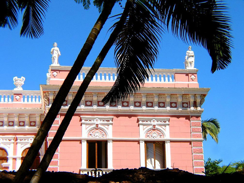 Governor's Palace, Florianopolis - Thoughout much of the 19th Century, the governors of Santa Catarina province lived and worked in this ornate pink palace. Lavishly decorated in many different styles, the palace is a house of dreams -- or perhaps nightmares.