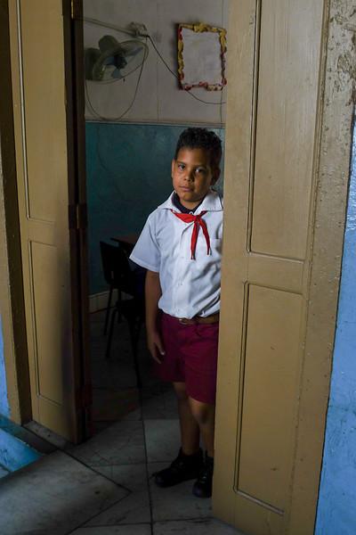 Shy student, Havana