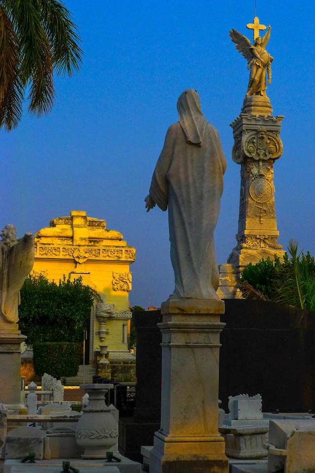 Daybreak, Columbus Cemetery, Havana