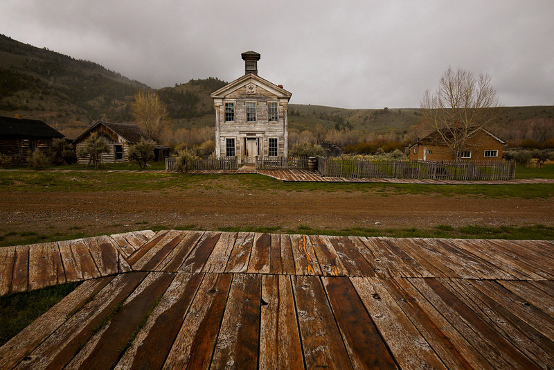Bannack MT -- school house