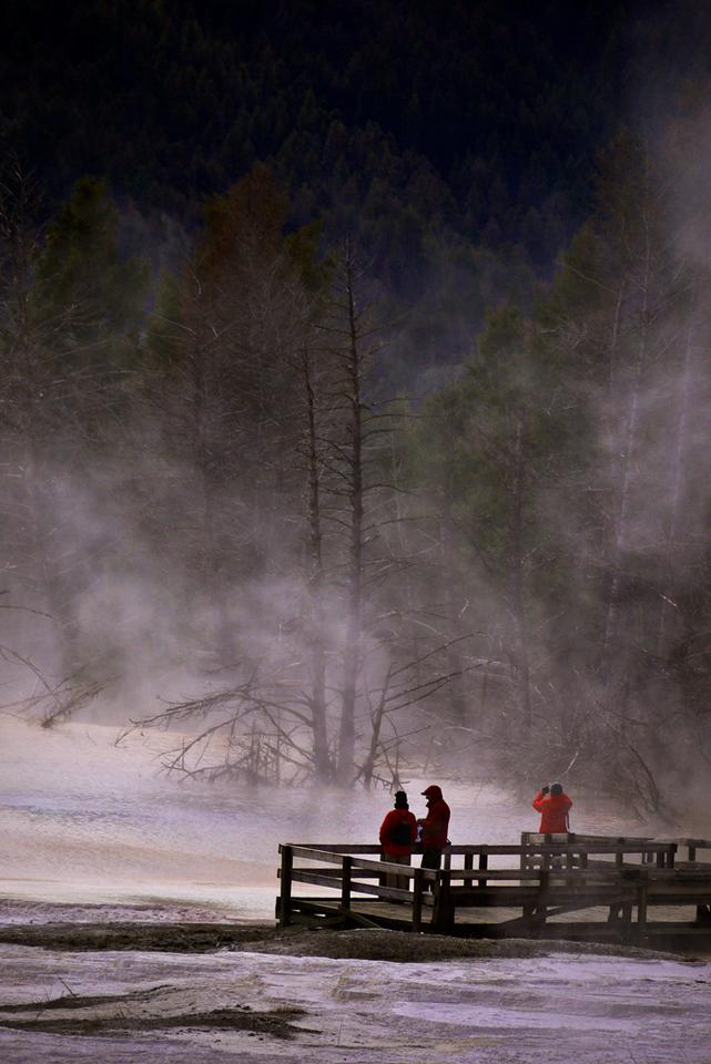 Crystal Springs, Mammoth Hot Springs