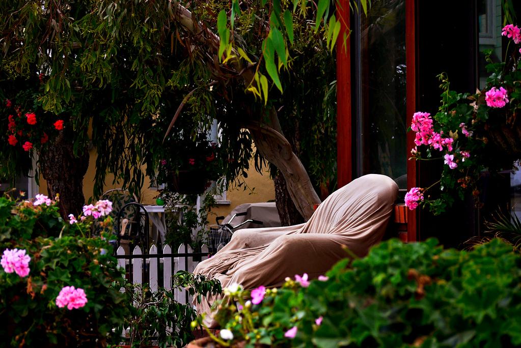 Shrouded chair, Mission Beach