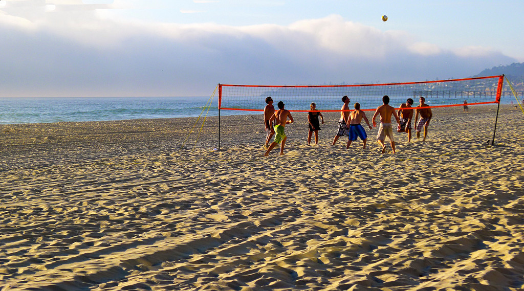 Volleyball, Mission Beach