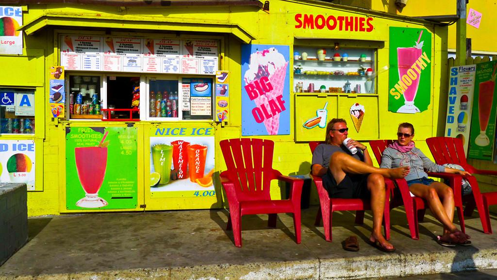 Big Olaf, Mission Beach