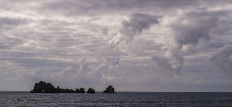 The Devils Crown, off Punta Cormorant, Floreana Island, The Galapagos