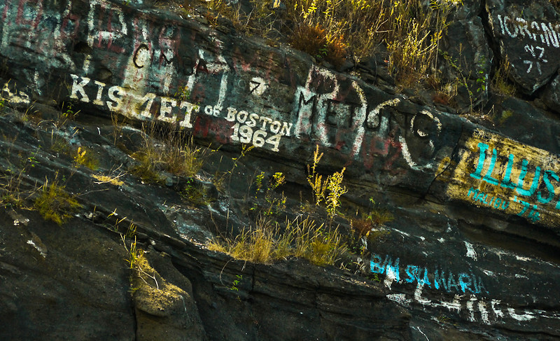 Grafitti, Tagus Cove, Isabela Island, The Galapagos