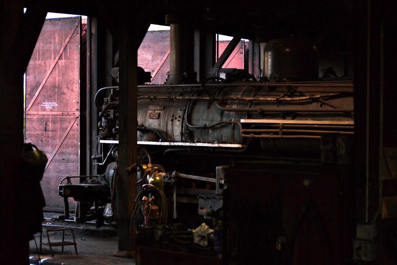 Engine barn, Durango