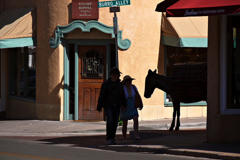 Burro Alley, Santa Fe
