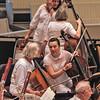 59  Musicians prepare, Chautauqua, NY