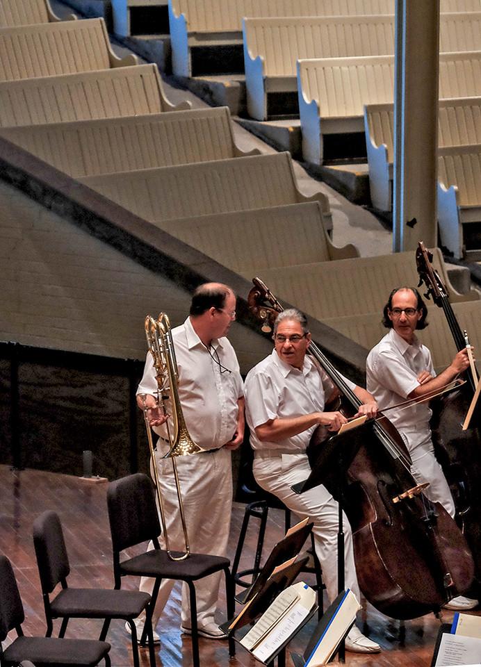 58 Orchestral discussion, Chautauqua, NY