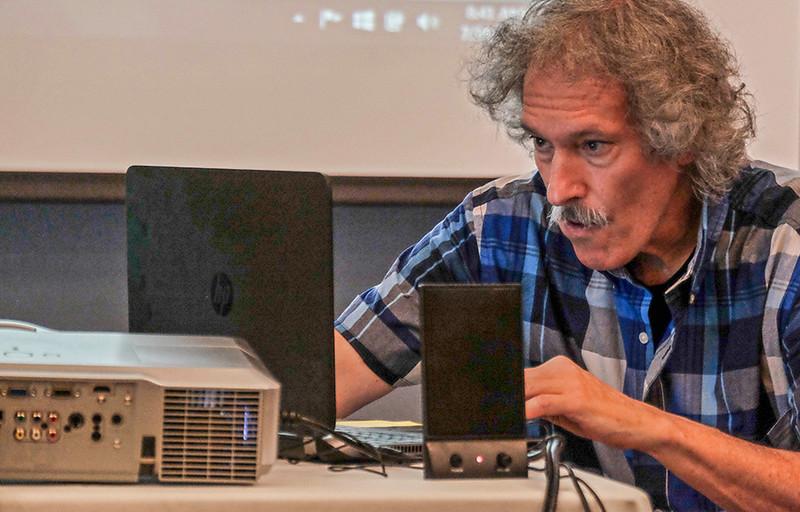 64  Lecturer turned technician, Chautauqua, NY