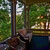 49  Porch sunrise, Chautauqua, NY