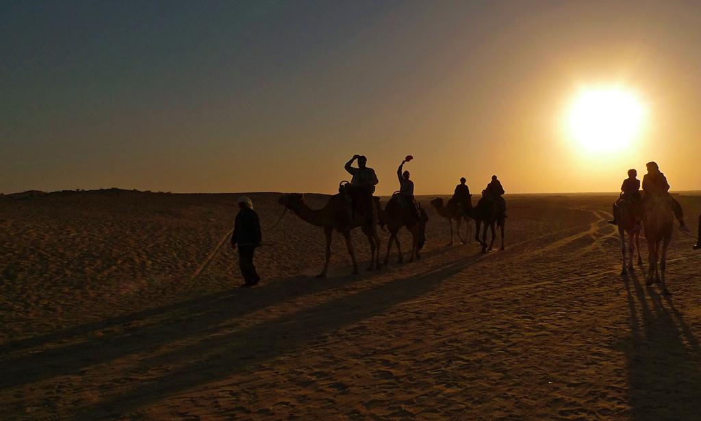 Camel ride, Douze