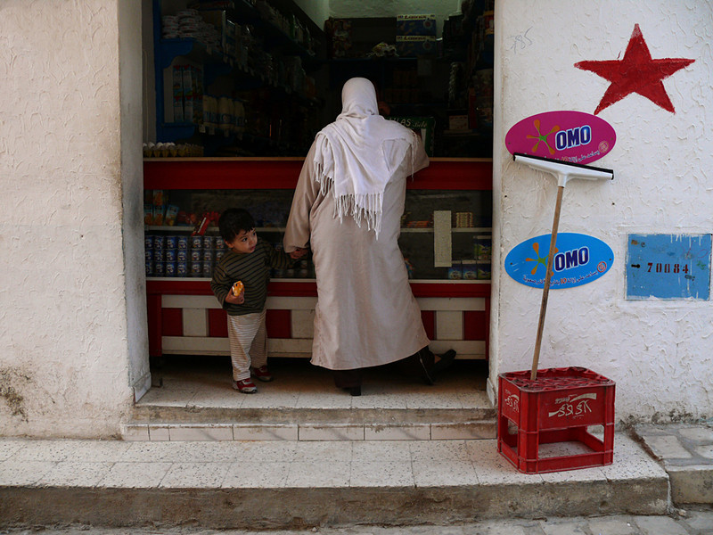 Young shopper, Sousse