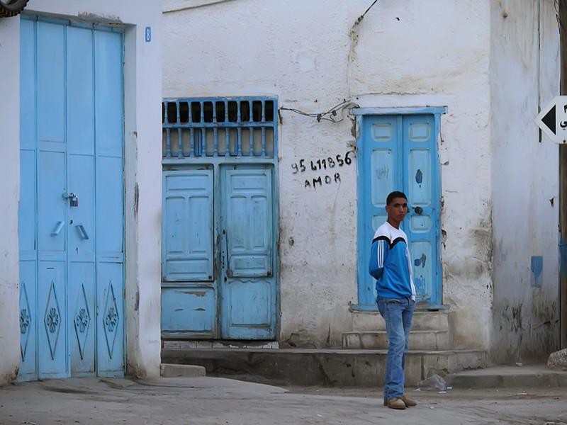 Blue, Kairouan
