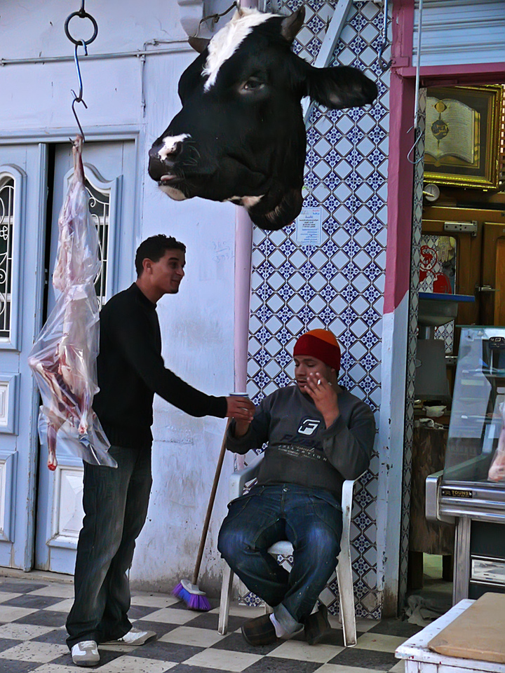 Butchers, Kairouan