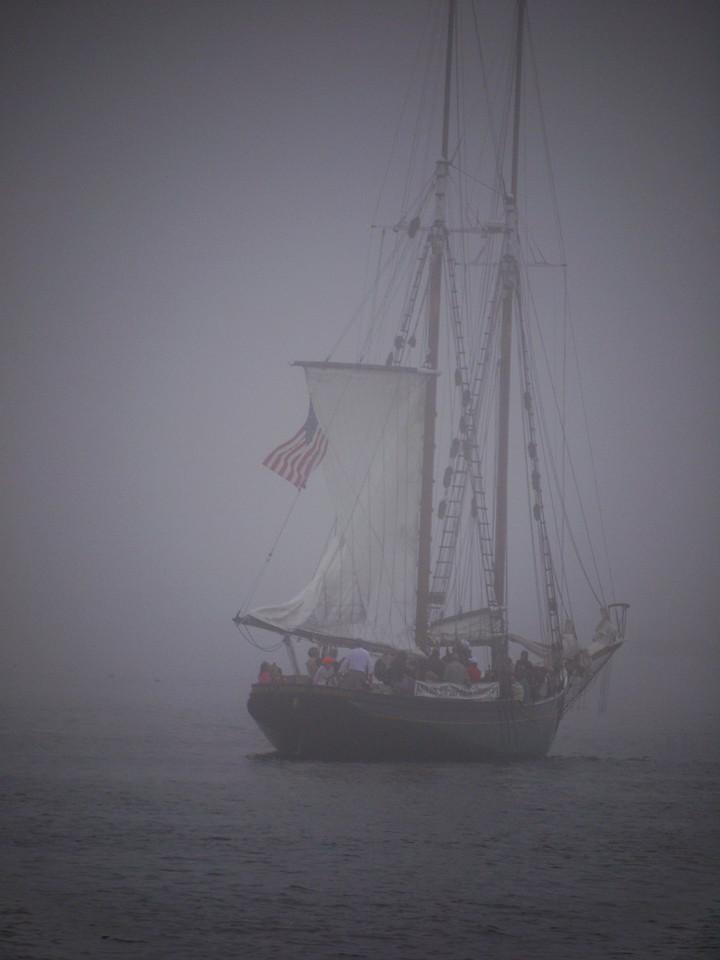 Schooner off Gloucester