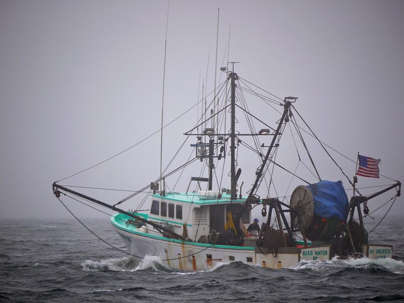 Trawler off Gloucester