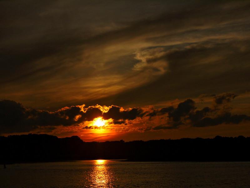 Annisquam River sunset