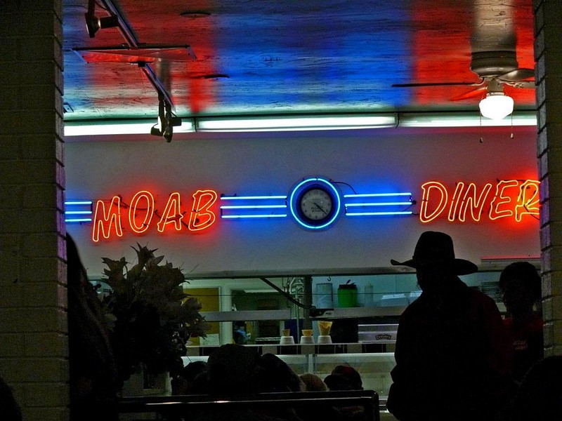 Moab Diner - Food good, atmosphere even better.