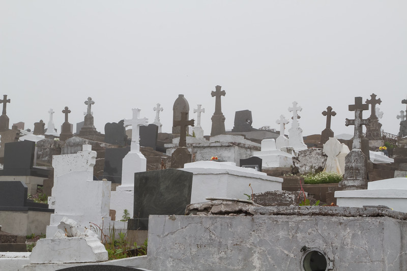 Cemetary in Saint-Pierre and Miquelon, France